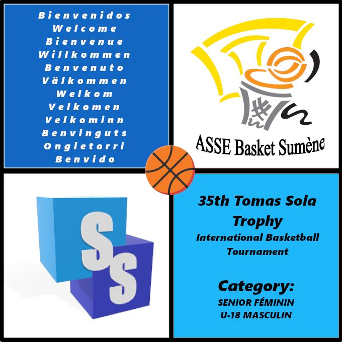 ASSE Basket Sumene en el Trofeo Tomas Sola 2020