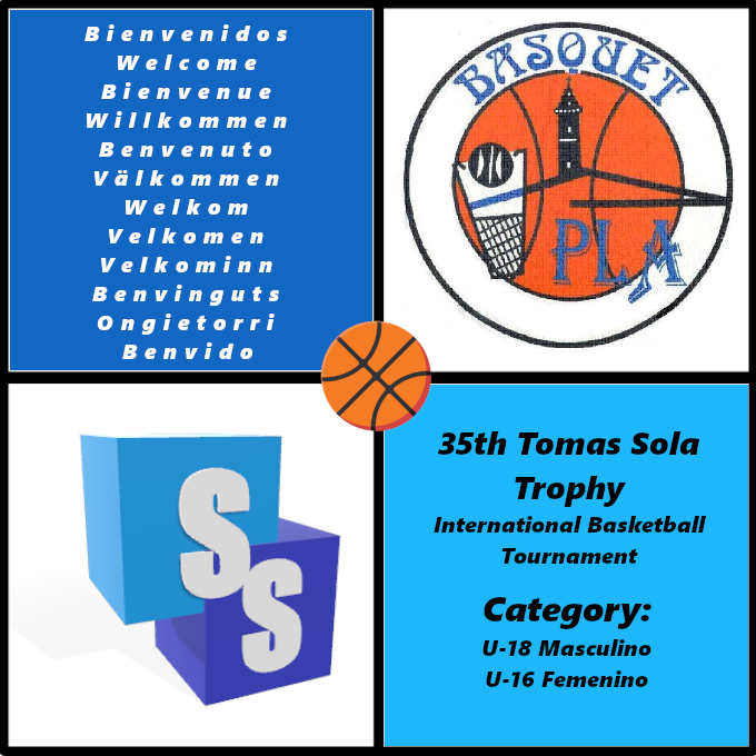 Basquet Pla in the Tomas Sola Trophy 2020
