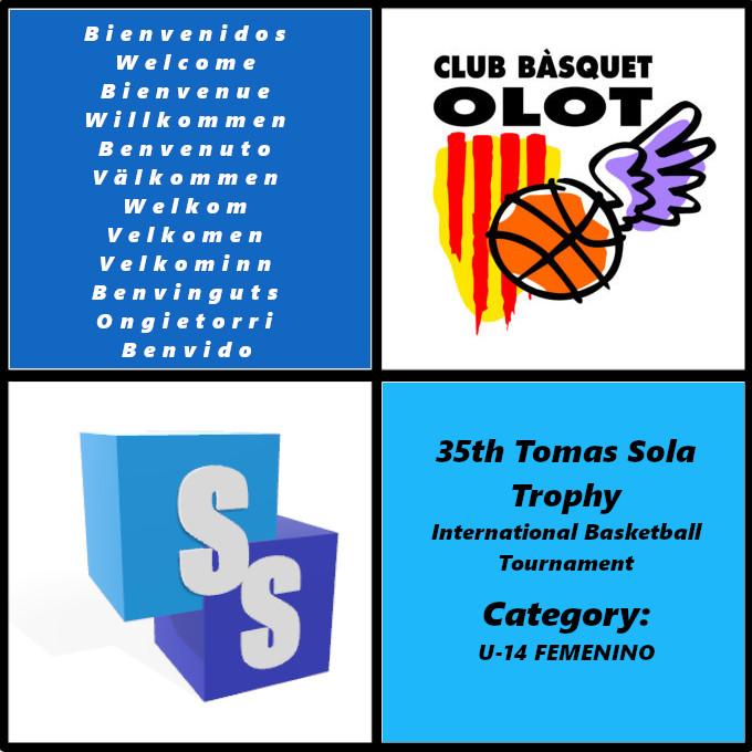 Club Basquet Olot dans il Trophée Tomas Sola 2020