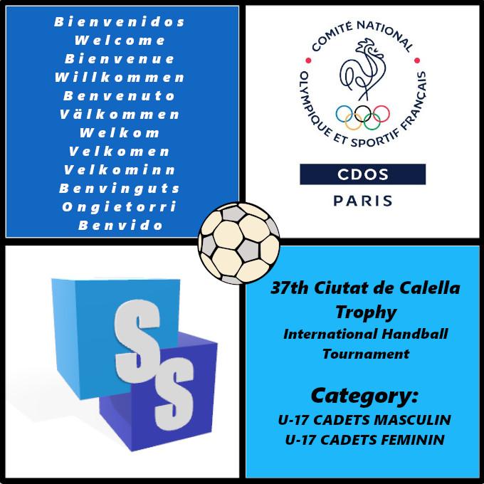 Generation Paris 2024 dans il Trophée Ciutat de Calella 2020