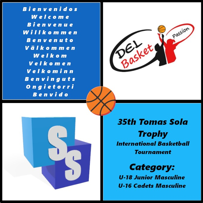 Del Basket in the Tomas Sola Trophy 2020