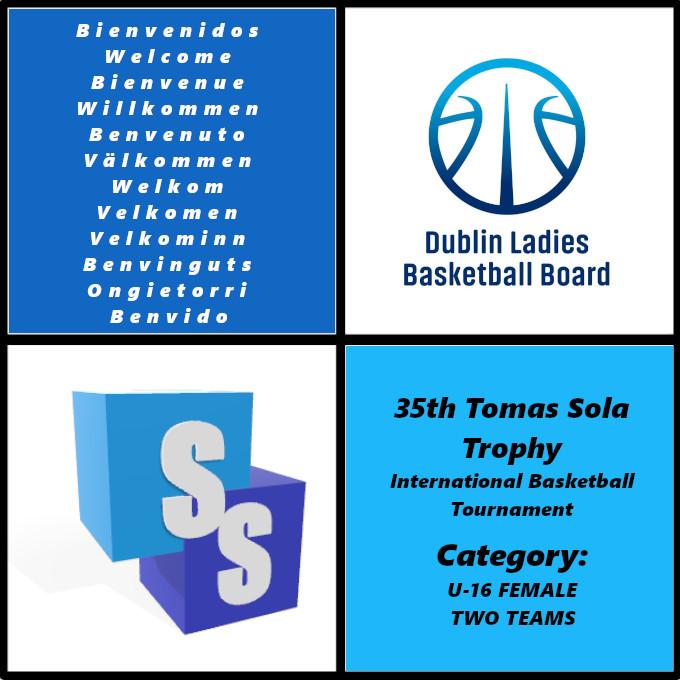 Dublin U16 Girls en el Trofeo Tomas Sola 2020