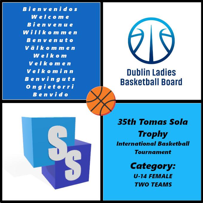 Dublin U14 Girls dans il Trophée Tomas Sola 2020