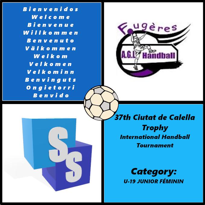 AGL Handball Fougeres in the Ciutat de Calella Trophy 2020