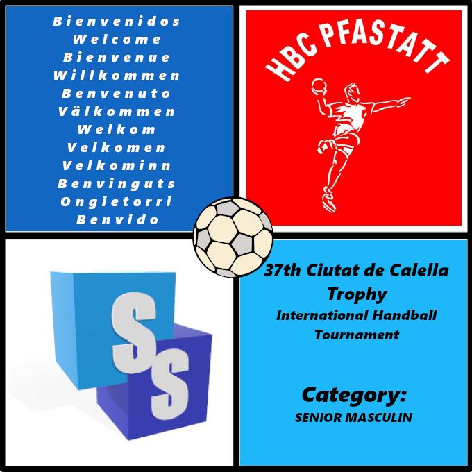 Handball Club Pfastatt in the Ciutat de Calella Trophy 2020