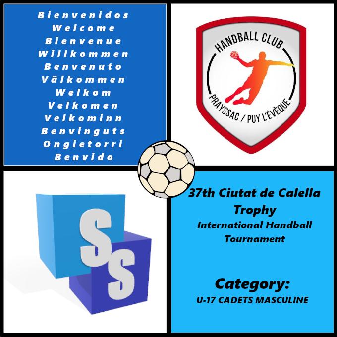HBC Prayssac in the Ciutat de Calella Trophy 2020