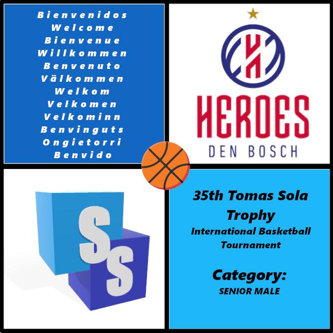 Heroes Den Bosch en el Trofeo Tomas Sola 2020