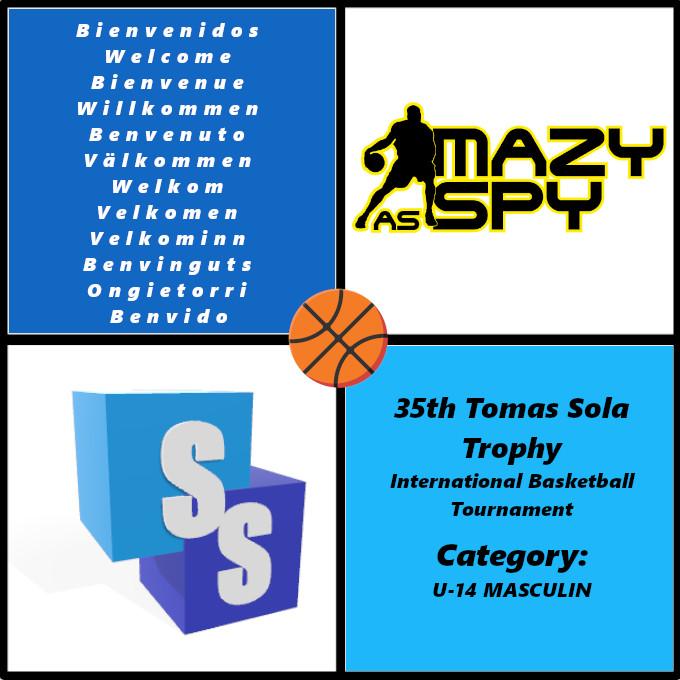 Mazy Spy Basketball en el Trofeo Tomas Sola 2020