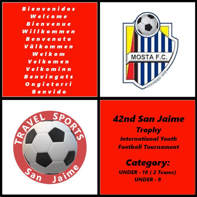 Mosta FC Academy partecipará al Trofeo San Jaime 2020