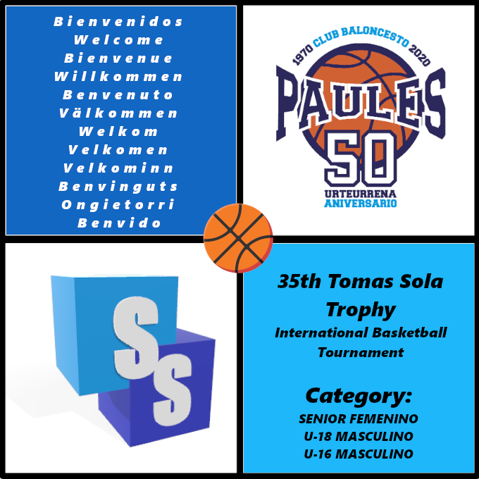 Club Baloncesto Paules in the Tomas Sola Trophy 2020