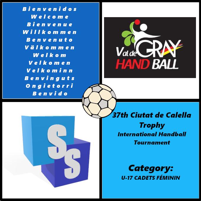Val de Gray Handball dans il Trophée Ciutat de Calella 2020
