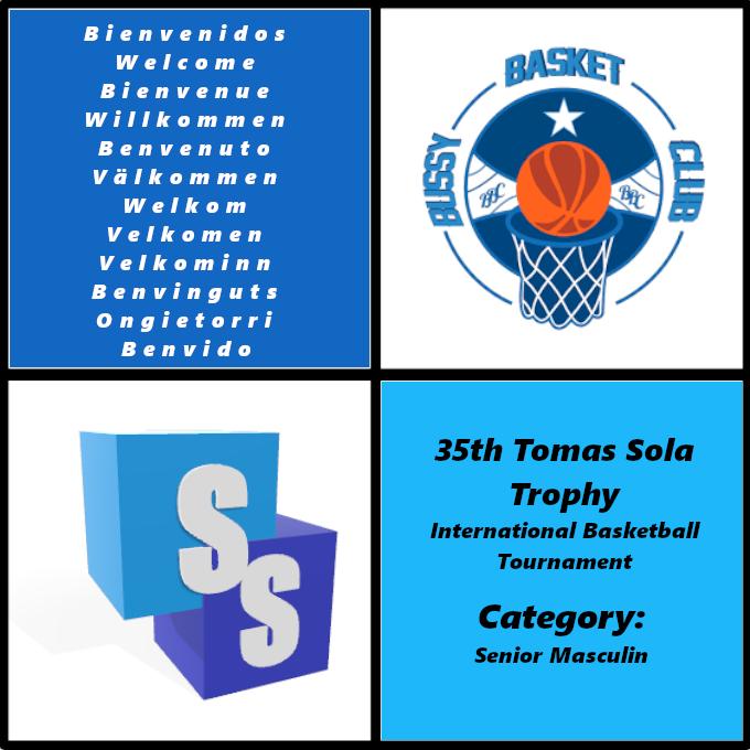 Bussy Basket Club en el Trofeo Tomas Sola 2020
