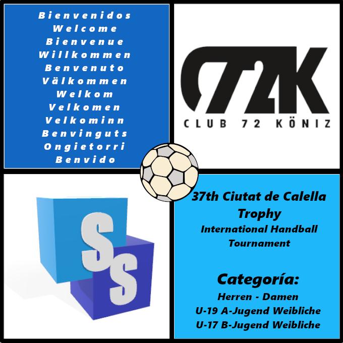 Club 72 Köniz en el Trofeo Ciutat de Calella 2020