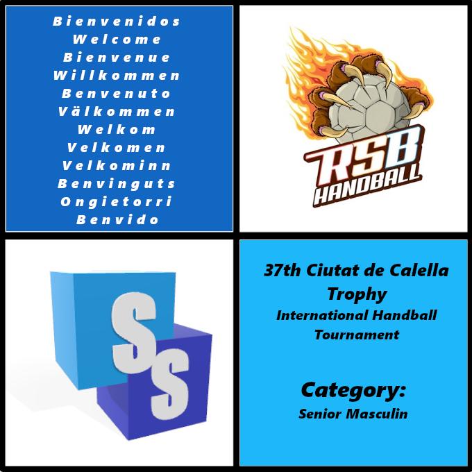 RSB Handball dans il Trophée Ciutat de Calella 2020
