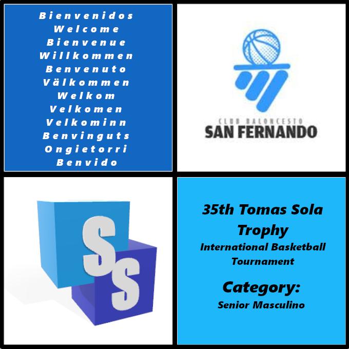 C.B. San Fernando en el Trofeo Tomas Sola 2020