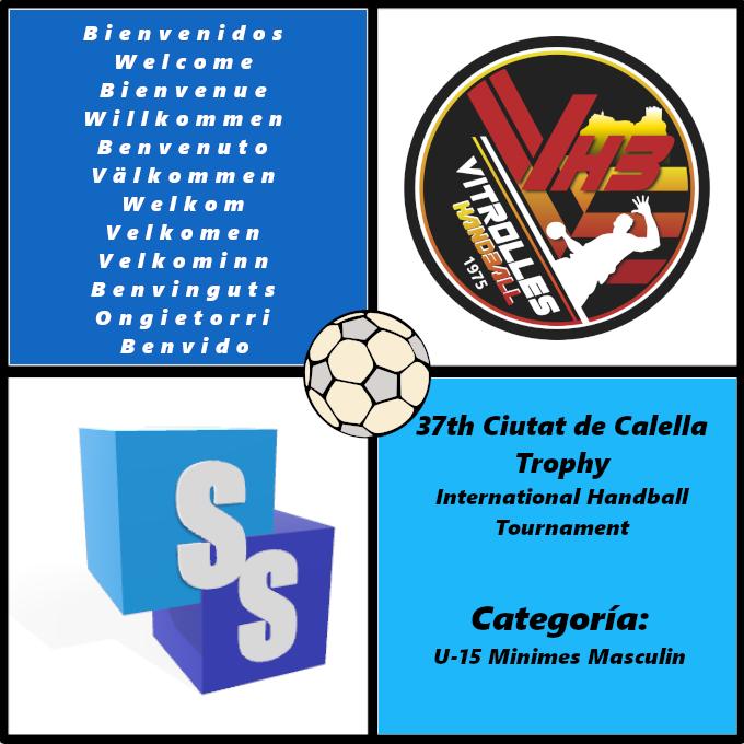 Vitrolles Handball Jeunes in the Ciutat de Calella Trophy 2020